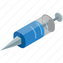 health, healthcare, medical, medication, medicine, syringe icon