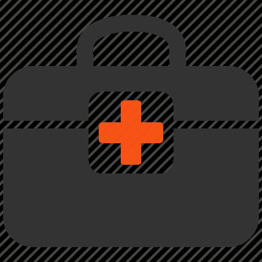 ambulance, doctor case, emergency, health, help, medical kit, medicine icon