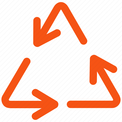 clean, dustbin, environment, garbage, recycle bin, recycling, rotate icon