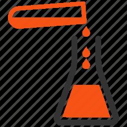 analysis, chemical, chemistry, lab, laboratory, pharmacy, test tube icon
