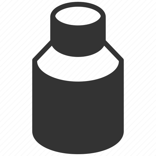 chemical drugs, drug container, glass vial, medical analysis, oil flask, pill container, water bottle icon