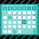 agenda, date, medical, planner icon