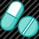 medical, medicines, pharmacy, pills icon