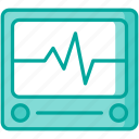 healthcare, heartbeat, medical, monitor icon