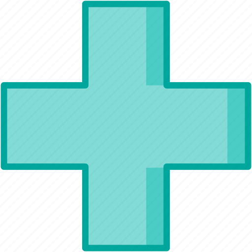 cross, healthcare, hospital, medical icon