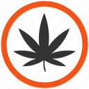 cannabis, drug, hemp, leaf, marijuana, plant, weed icon