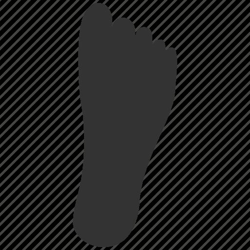 fingerprint, footprint, print, shoe, stamp, step, track icon