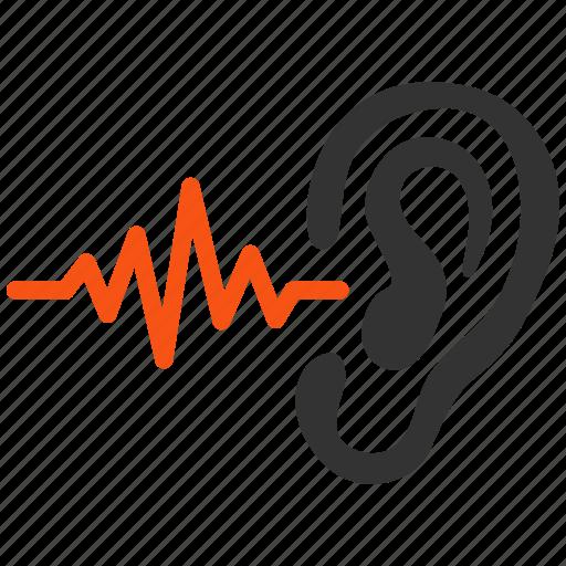 hear, hearing, listen, music, sound, speaker, volume icon