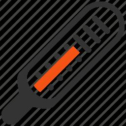 control, gauge, measure, measurement, temperature, thermometer, value icon