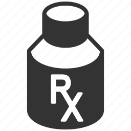 bottle, chemical, container, drug, medical, medicine, pharmacy icon