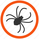 bug, dangerous, insect, insects, monster, spider, tick icon