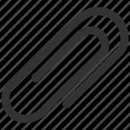 attach, attachment, connection, letter, message, office, paper clip icon