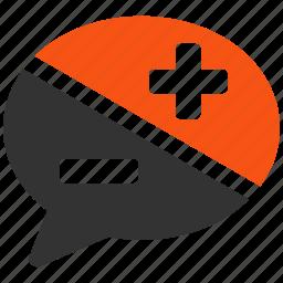 argue, argument, conversation, debate, dispute, negotiation, speech icon