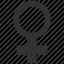 erotics, female symbol, fertility, girlfriend, sexy, venera, venus icon