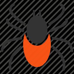 acarid, acarus, bug, encephalitis, mite, parasite, tick icon