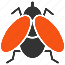 bug, drosophila, fly, infection, insect, midges, parasite icon