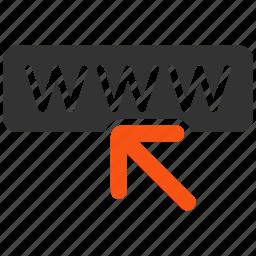 internet, online, seo, site, url, web, website icon