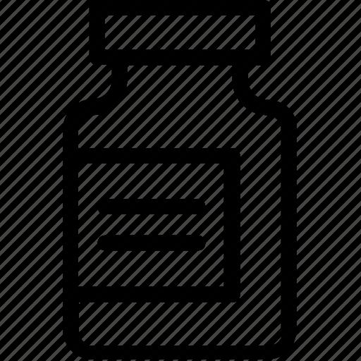 capsule, medicine, medicine jar, pills, tablet icon