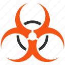 bio, biohazard, caution, danger, hazard, risk, toxic icon