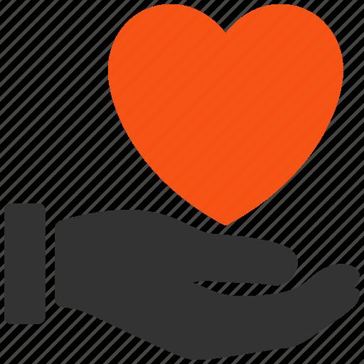 care, donate, favorite, health, heart, love, support icon