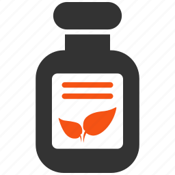 bottle, drug, glass, healthcare, natural, organic drugs, treatment icon