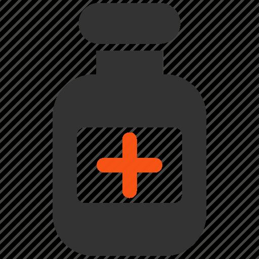 bottle, chemical, drug, drugs, pharmacy, phial, vial icon