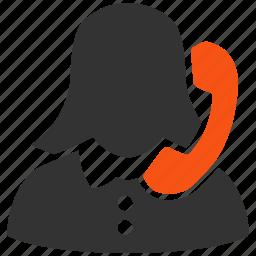 call center, help, office, operator, reception, receptionist, service icon