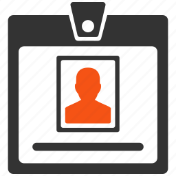 account, badge, card, certificate, document, frame, photo icon
