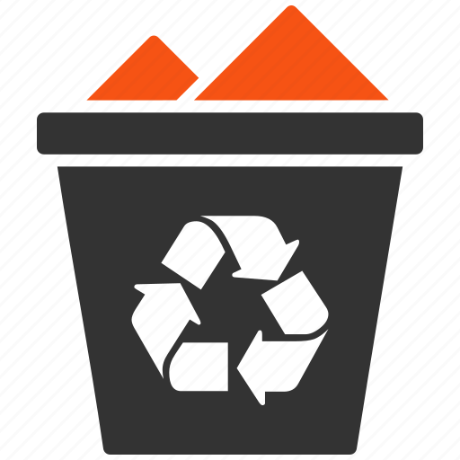 basket, clear, delete, recycle, recycle bin, remove, trash icon