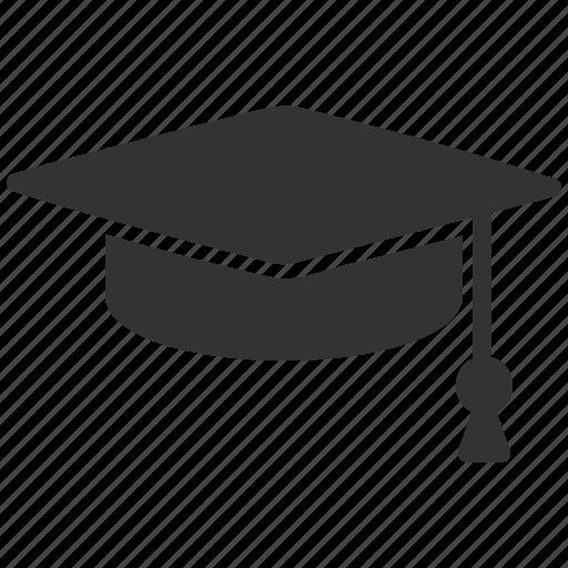 college, degree, education, graduation cap, knowledge, school, university icon
