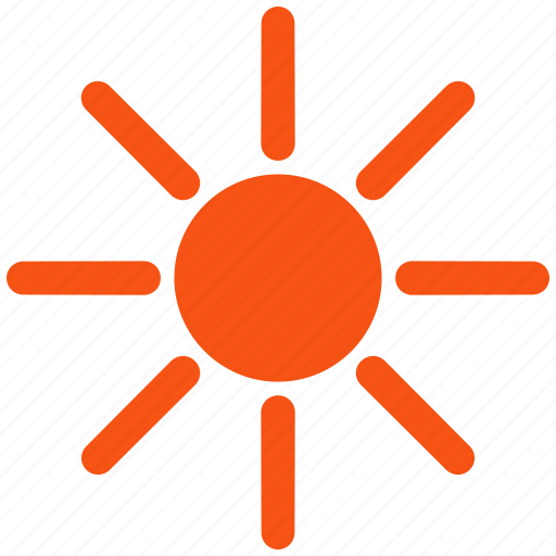 brightness, holiday, light, solarium, summer, sun, suntan icon
