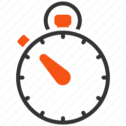 clock, measure, meter, schedule, speed, stopwatch, timer icon