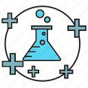 flask, fluid, lab, liquid, medical, science, tube icon