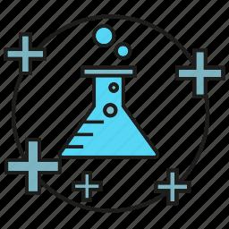 flask, fluid, lab, liquid, medical, science, tube icon