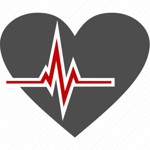 cardiogram, health, heart, medicine icon