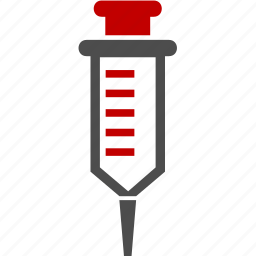 blood, health, medicine, syringe icon