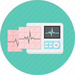 analysis, cardiogram, diagnostics, electrocardiographs, heartbeat, madical, pulse icon