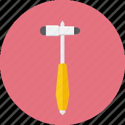 hammer, madical, neurological, neurology icon