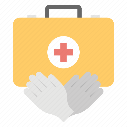 First aid kit, healthcare, medical aid, medical emergency, medicine case icon - Download on Iconfinder