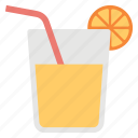 fresh juice, fruit juice, lemonade, orange juice, refreshing juice icon