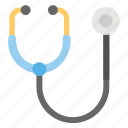doctor tool, medical checkup, medical equipment, phonendoscope, stethoscope icon