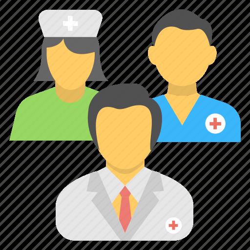 doctor, medical assistant, medical staff, nurse, nursing staff icon