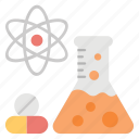 biological lab, chemistry, experimental medicine, medicine research, research lab icon