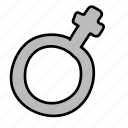 biology, female, gender, medical, woman icon