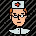 dentist, doctor, health, hospital, medical, nurse, staff icon