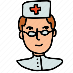 dentist, doctor, health, hospital, medical, nurse, staff icon