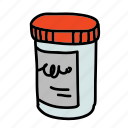 box, health, medical, pharmacy, pills, presciption icon