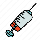 doctor, health, hospital, medical, medicine, syringe icon