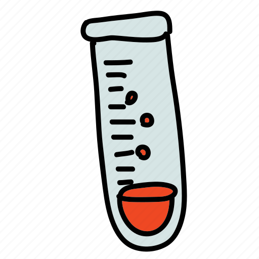 examine, experiment, lab, medical, science, test, tube icon