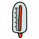 health, medical, syringe, temperature, thermometer